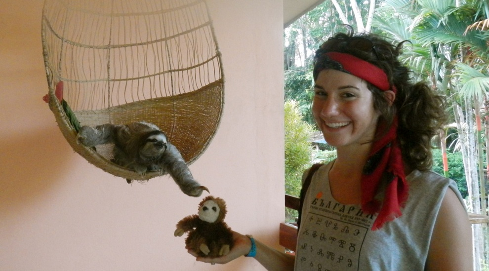 Костариканская обитель ленивцев