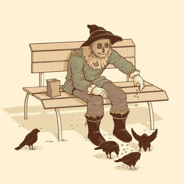 Забавные рисунки Начо Диаса