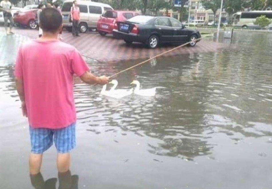 Наводнение - не повод для расстройства