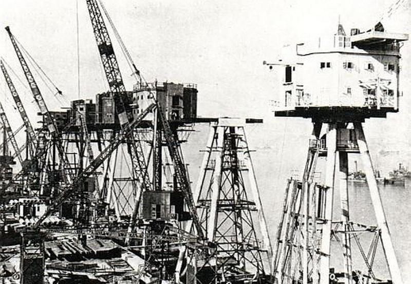 Удивительная морская крепость Маунселла