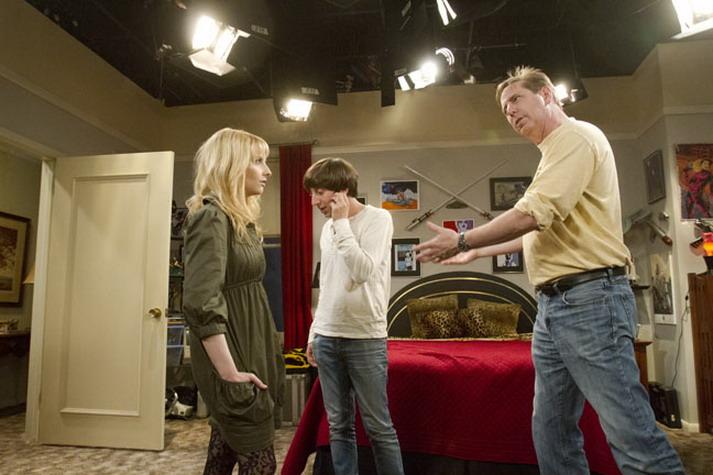 На съемочной площадке The Big Bang Theory