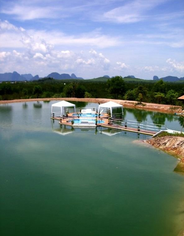 Плавающие бассейны