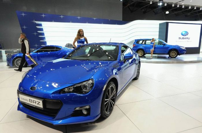 Фотографии с московского международного автосалона 2012