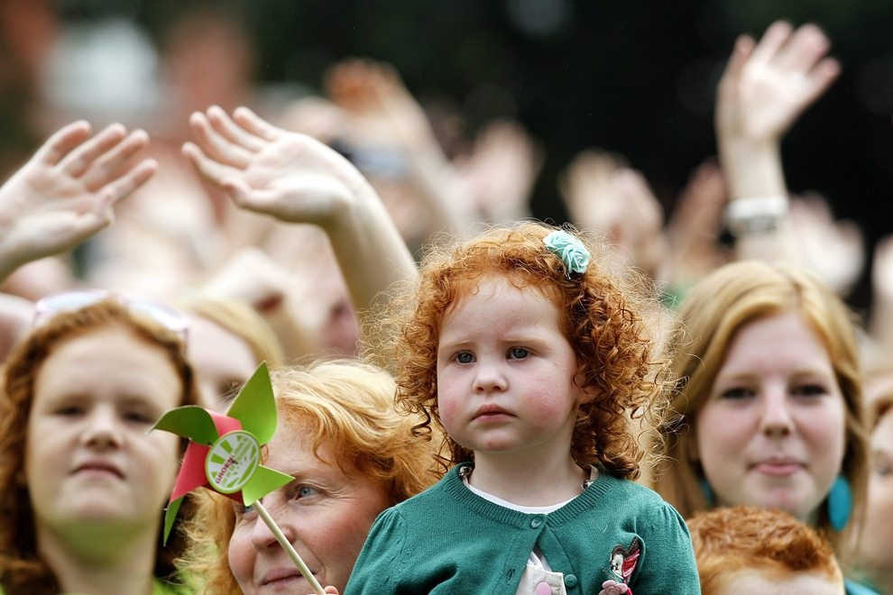 Redhead Day - праздник рыжих людей