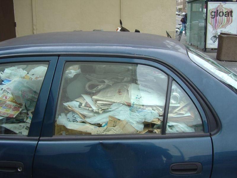 Автомобили - помойки