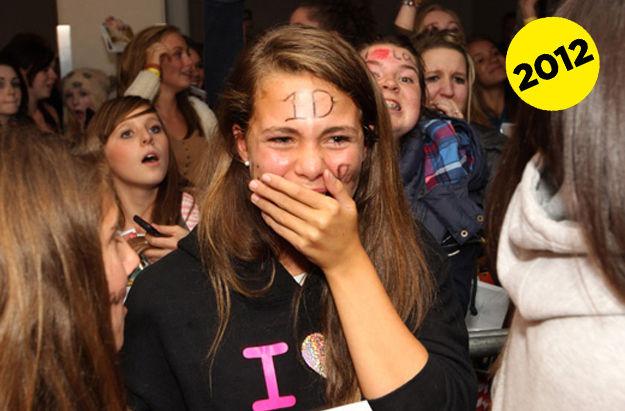 Фанатки Битлз vs. фанатки One Direction