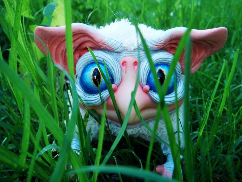 Забавные самодельные игрушки российского художника Santaniel