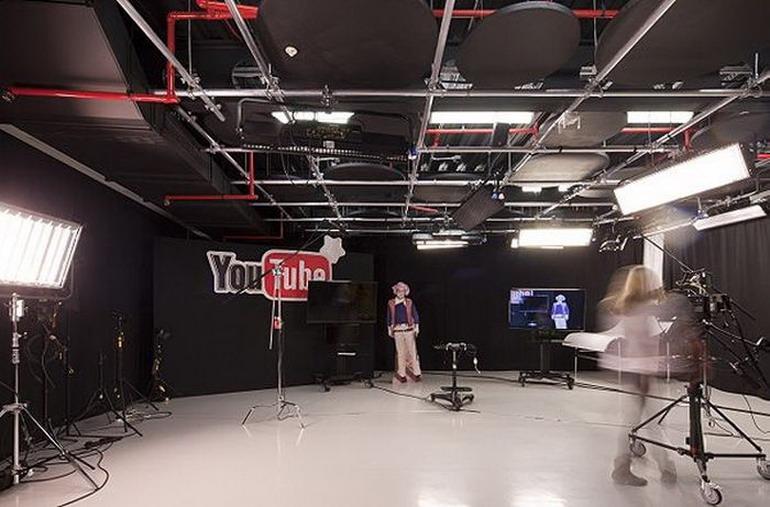 YouTube открыл офис-студию в Лондоне