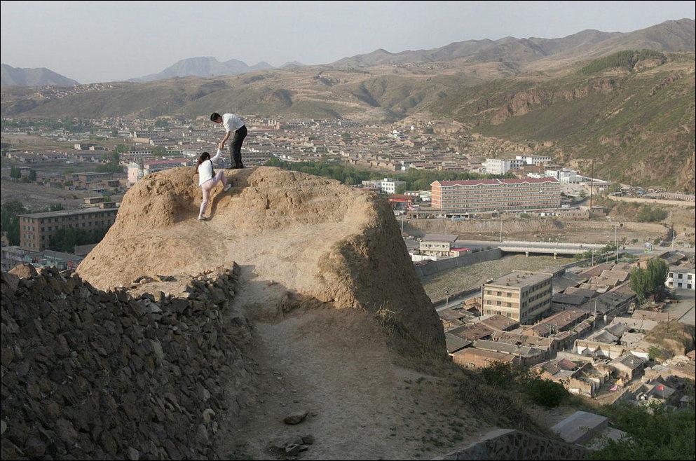 Руины Великой китайской стены