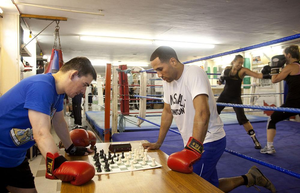 ������� - Chess boxing