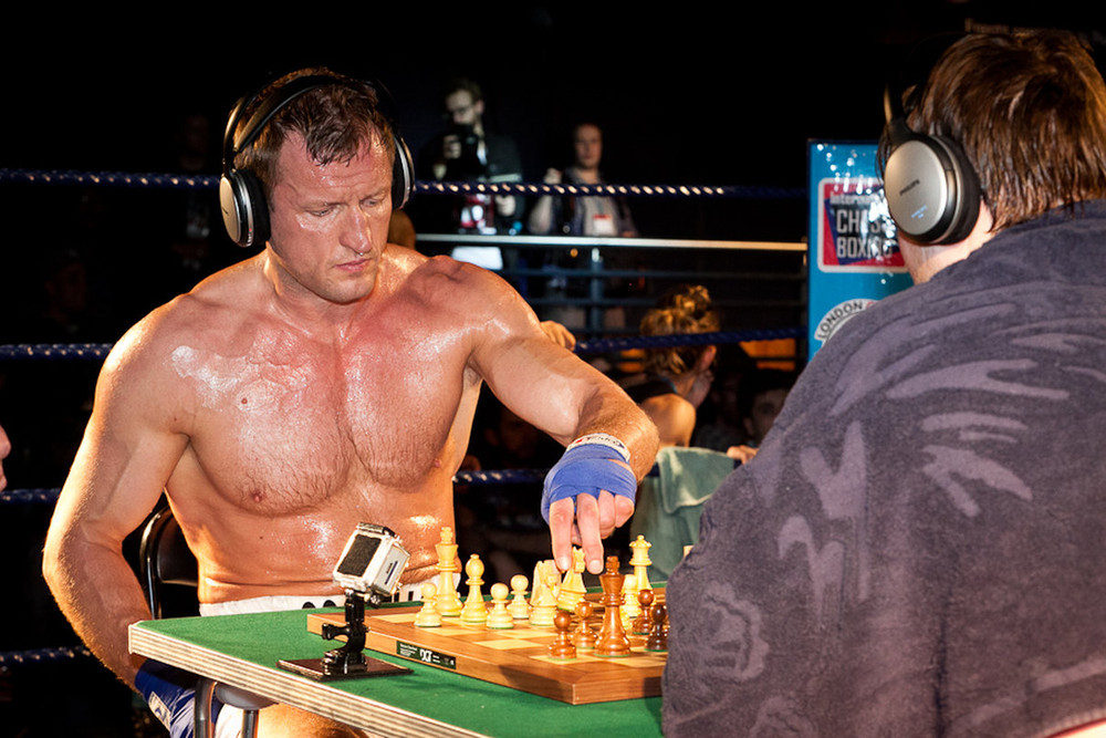 Шахбокс - Chess boxing