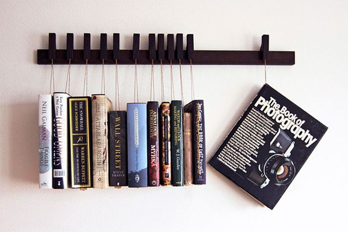 Крутые и удивительные Книжные полки