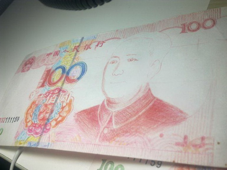 Как нарисовать деньги