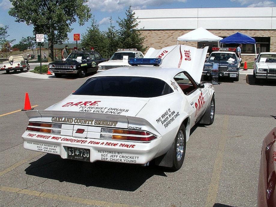 Полицейские автомобили