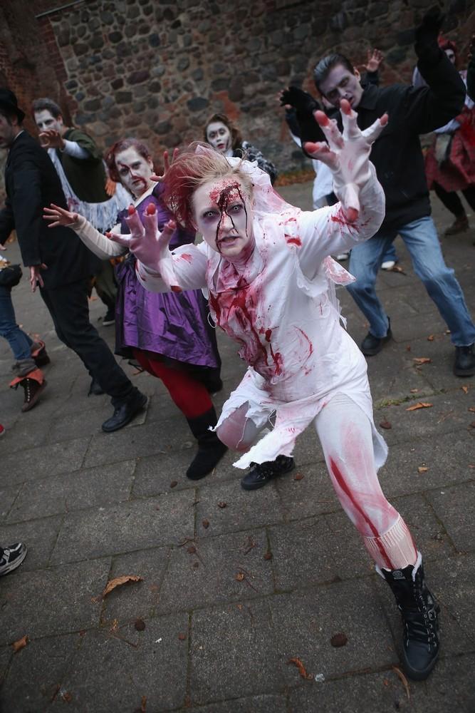 Zombie Walk в Берлине