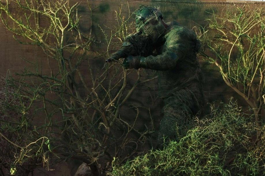 Как камуфляж скрывает солдат и технику от врага