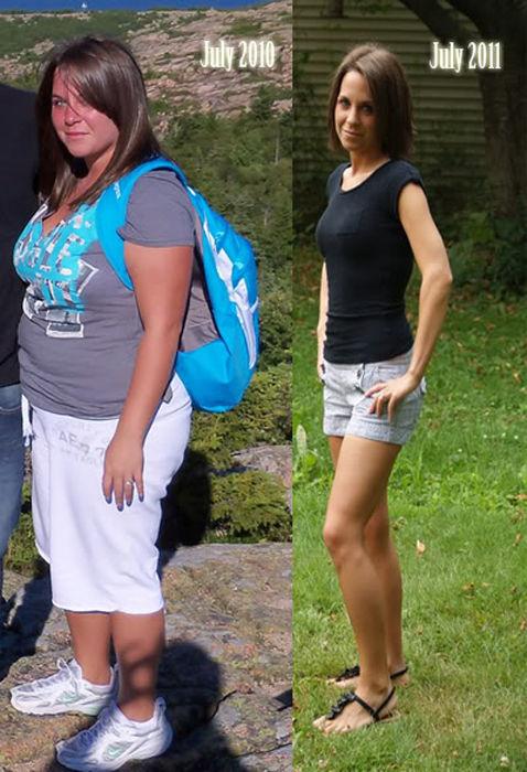 Девушки, которым удалось похудеть