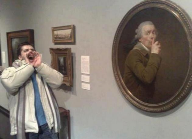 Прикольные фотографии из музея