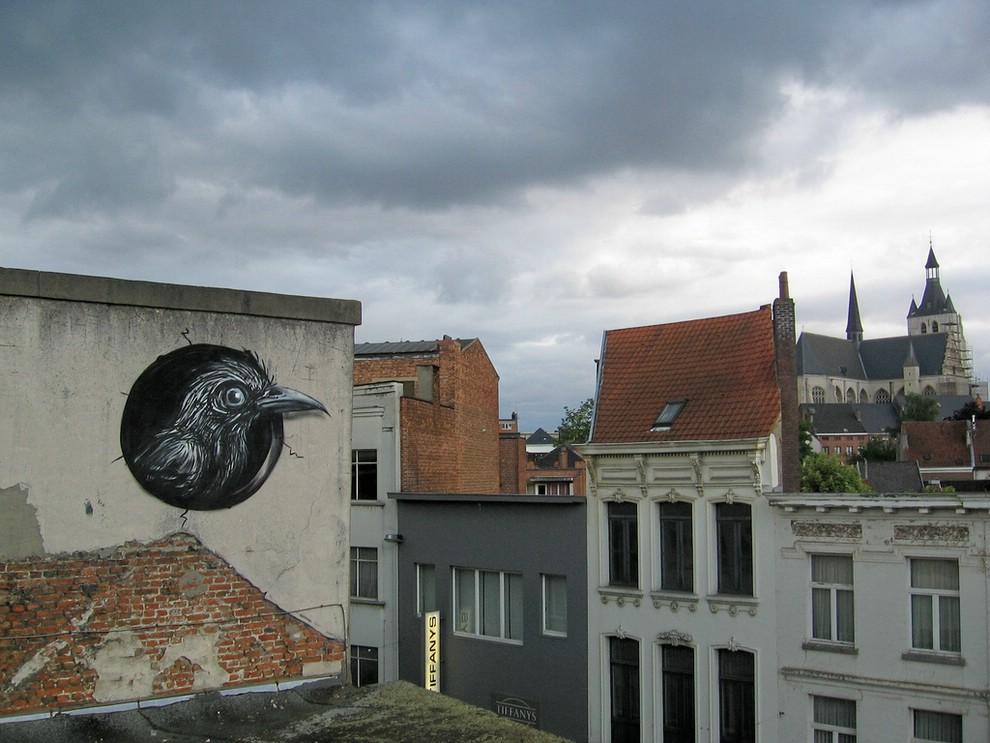 Street Art от Roa