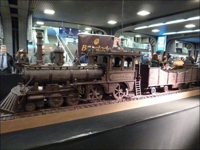 Шоколадный Поезд!