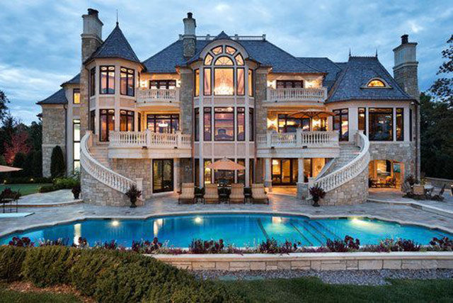 Крутые дома фото