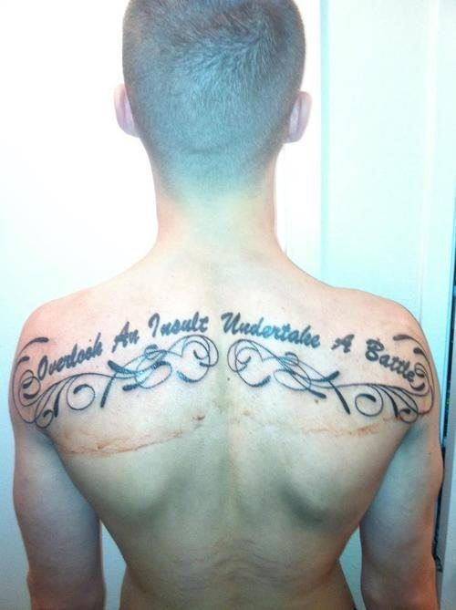Подборка странных и забавных татуировок