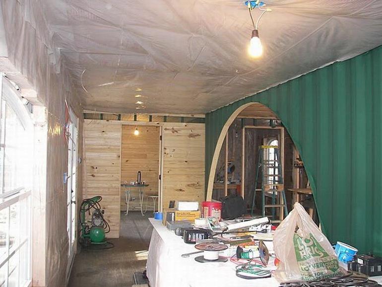 Жилой дом из двух контейнеров