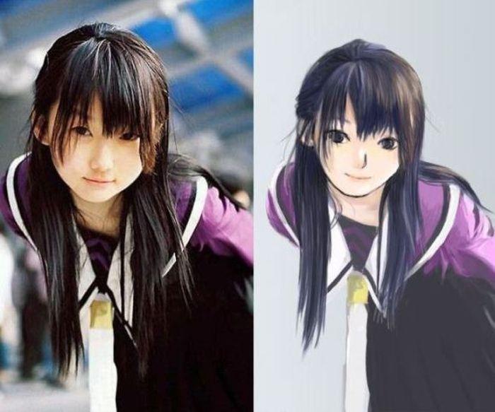 Перевоплощение персонажей из аниме