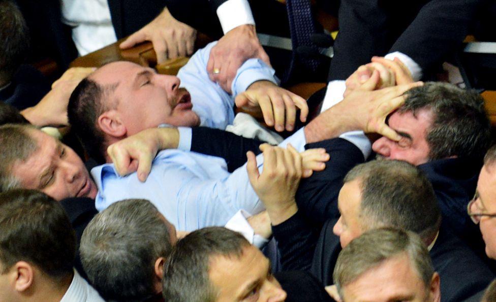 Массовые драки депутатов