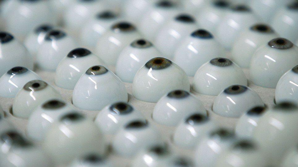 Аутентичные Стеклянные глаза
