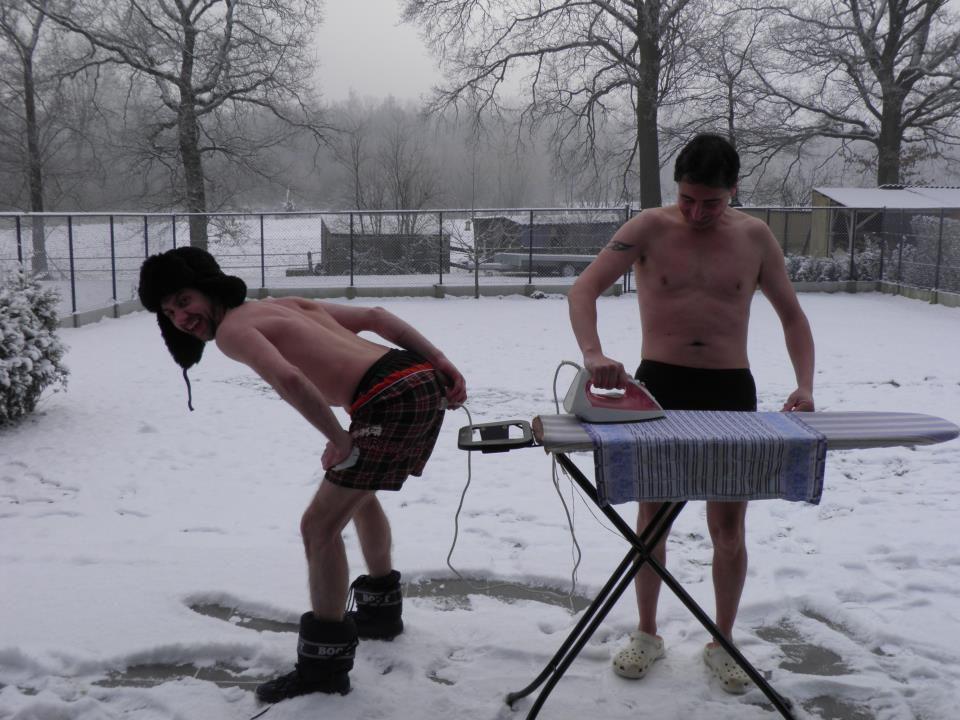 Не страшны нам морозы и стужа