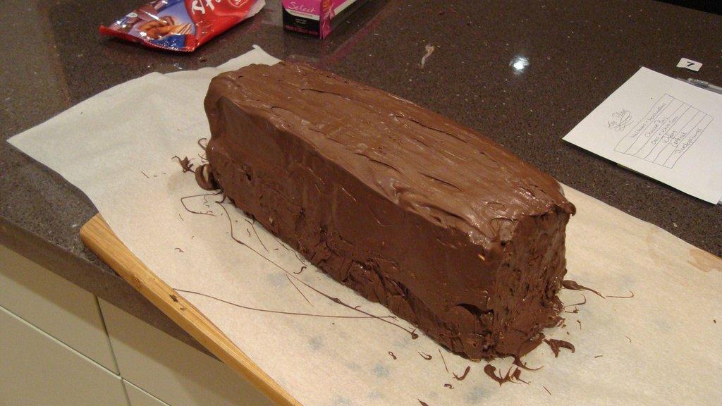 Зверская шоколадка