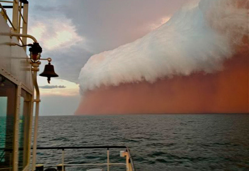 фотографий песчаных бурь