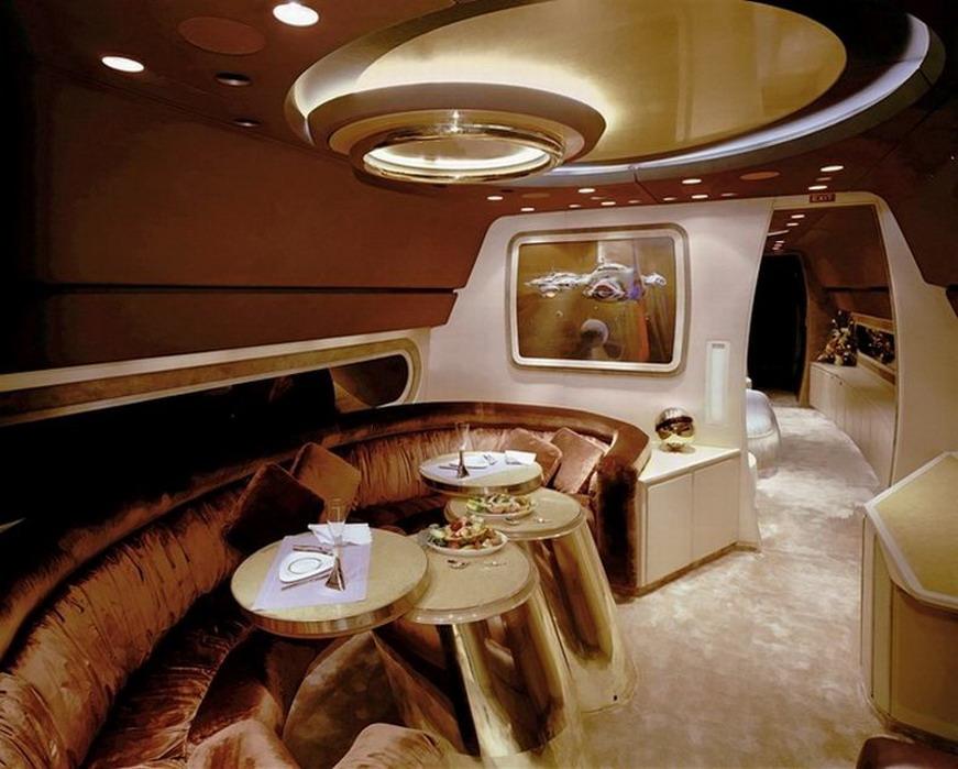 Самые роскошные интерьеры самолетов