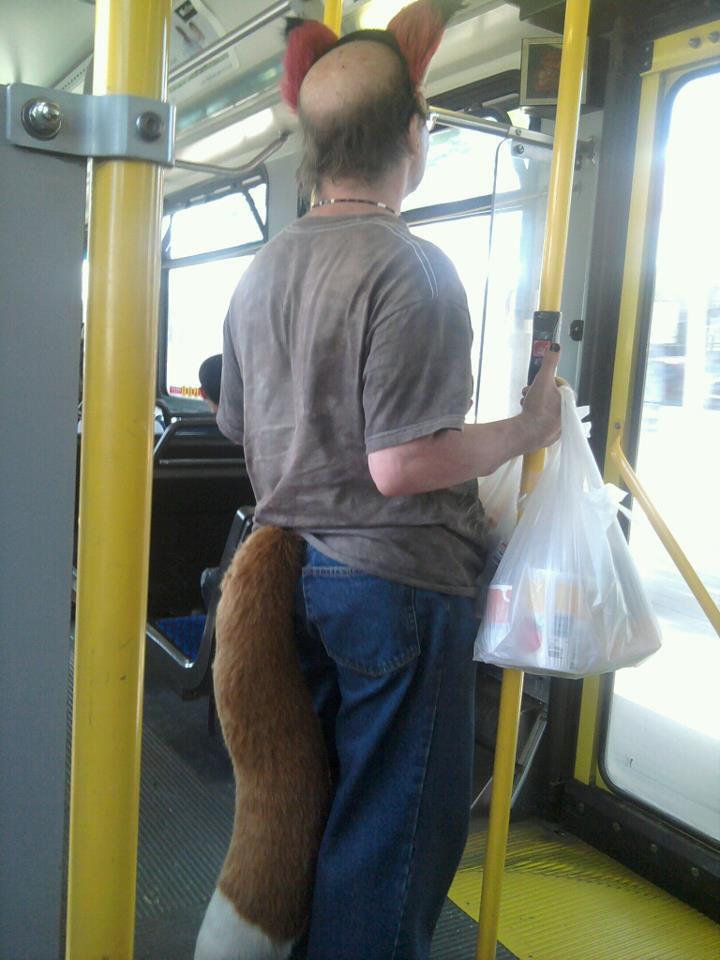 пассажиры общественного транспорта
