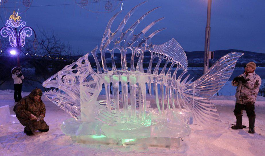 15 шедевров ледяной скульптуры