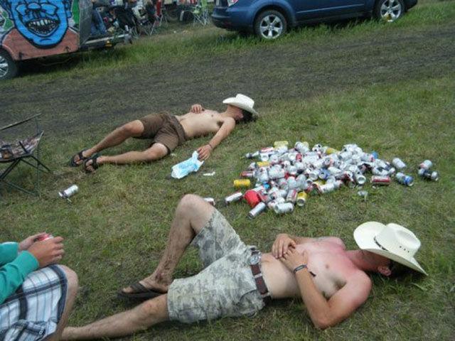 не знают меры в алкоголе