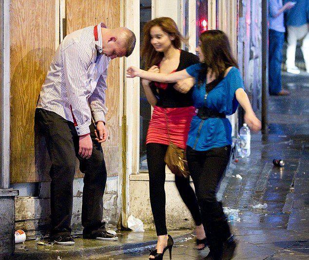 фото очень пьяных женщин