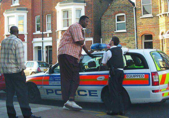 Прикольные полицейские снимки