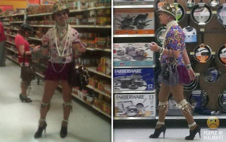 Смешные люди из супермаркетов
