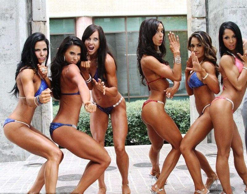 Подборка спортивных девушек