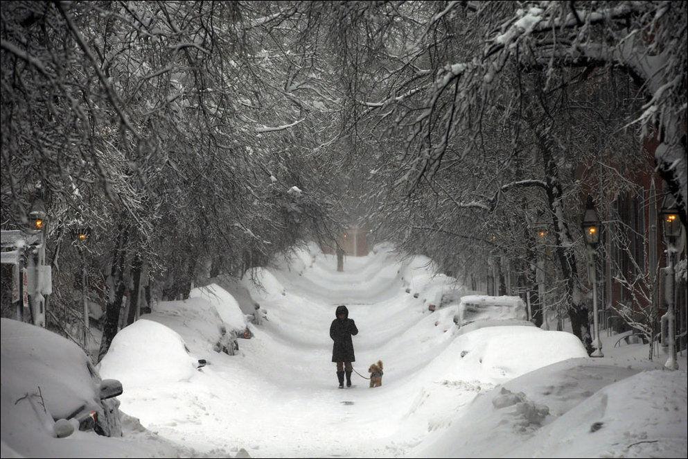Снежный шторм