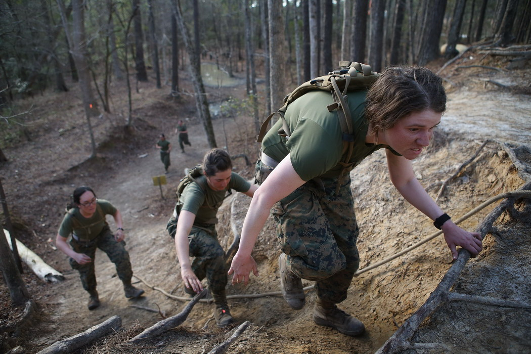 Training women in the United States Marines