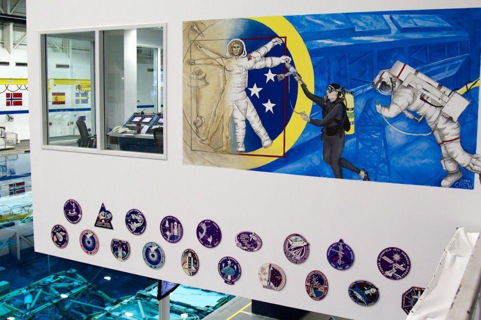 Бассейн NASA
