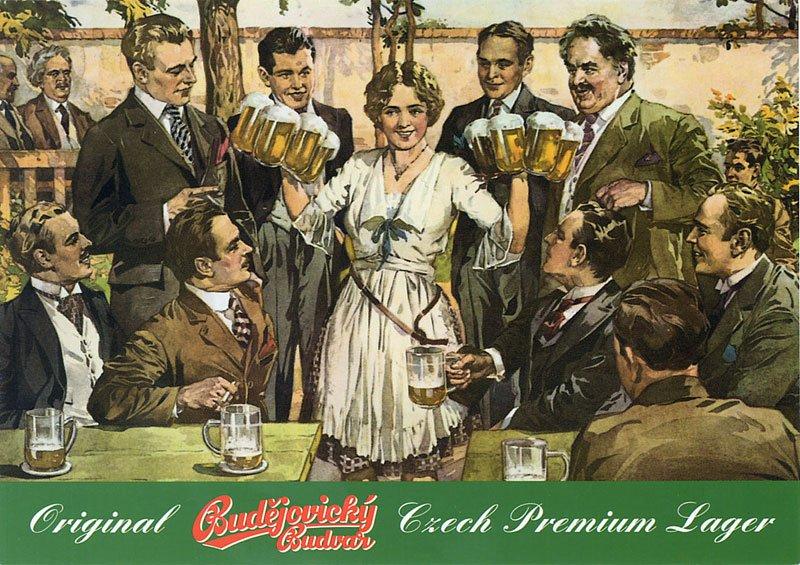 Старинные рекламные постеры