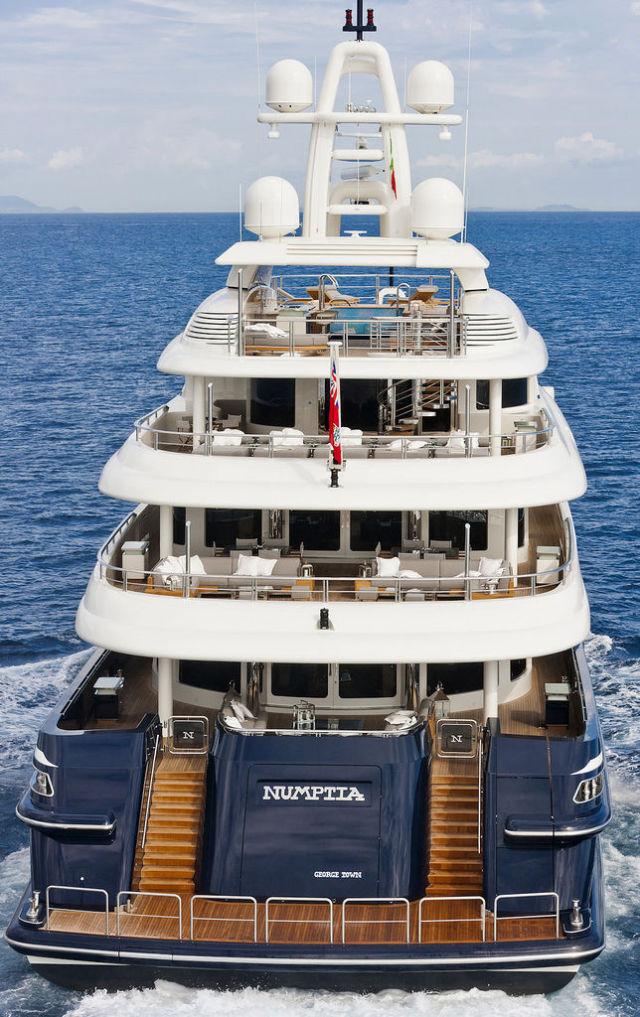 Роскошная Яхта Numptia