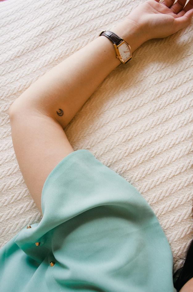 Миниатюрные татуировки