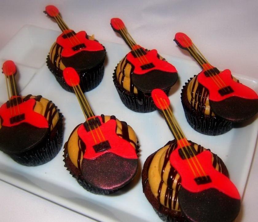 Пирожные для гитаристов