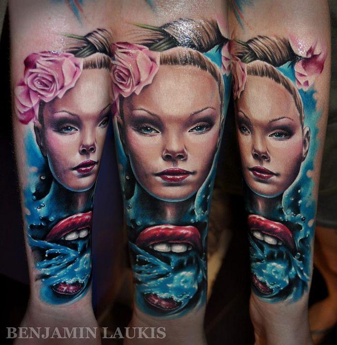 Профессиональные татуировки