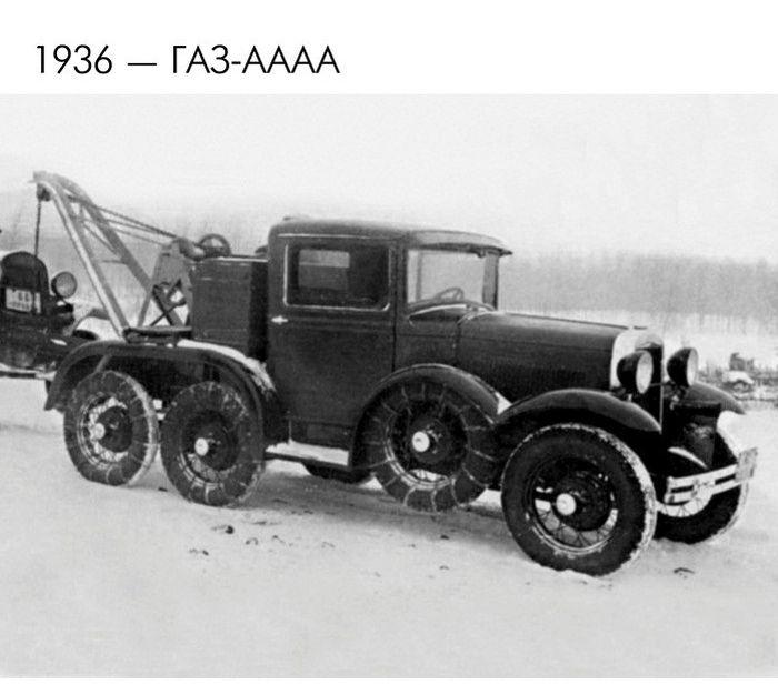 Концептуальные автомобили прошлого